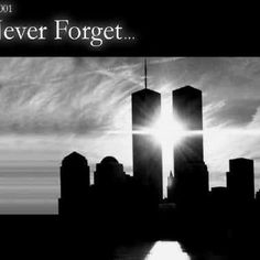 Never Forget, twin towers, catastrophy, september 11th, 2001, events, hurrible, sorrow, sadness, remembrance