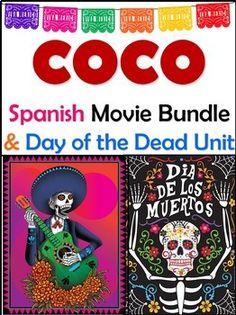 Coco Movie & Day of the Dead Bundle - El Dia de los Muertos