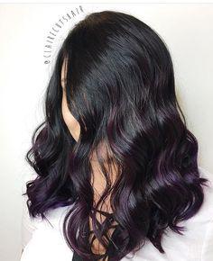 62 отметок «Нравится», 3 комментариев — • THE HAIR THEATRE SALON • (@thehairtheatresalon) в Instagram: «🔮Playing with Purple by @clairecutshair 💜»