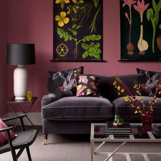 Sexy muted colors with bright hits and great nature inspired artwork. Fabulous!