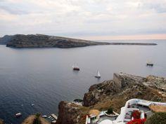 Sail Ships - #Santorini , #Greece
