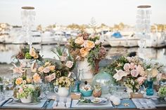 Photography By / katharrisweddings.com, Floral Design By / frenchbuckets.com