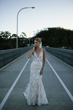 The Wedding Dress Silhouette Everyone Wants! The Stevie wedding dress by Made With Love Bridal featured on LOVE FIND CO. Wedding Dress Styles, Designer Wedding Dresses, Bridal Dresses, Wedding Gowns, Wedding Dresses Ireland, Lace Wedding, Laid Back Wedding, Church Wedding, Crystal Wedding
