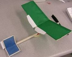 DIT RUBBER BAND POWERED AIRPLANES THAT FLY GREAT