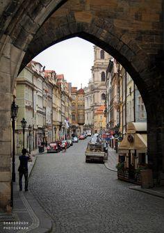 Prague street. by Anton Shavshukov on 500px