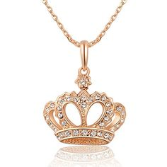 Queen Crystals Necklace with Imperial Crown Pendant Rose-Gold Plated WA635 null http://www.amazon.com/dp/B00SFD8UVK/ref=cm_sw_r_pi_dp_Ff..wb0ZWV0EF