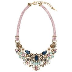 Today's Featured Product Look: Parisian Belle Convertible Statement Necklace  $148  Feminine florals + bursts of crystals take center-stage in this romantic statement piece. A sweet pink cord can be swapped out for an antique gold chain for an edgy feel. Either way, this wow-worthy style is not to be missed on your journey through Spring. As always, nickel-free, hypo-allergenic, lead-safe, and Lifetime Guarantee!  Only $148
