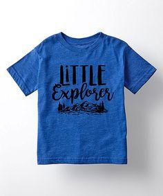4c8cccc472faf Royal Blue  Little Explorer  Tee - Toddler  amp  Kids  zulily  zulilyfinds