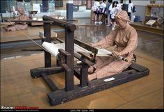 Japanese backstrap loom