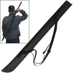 Katana Bokken Shinai Foam Sword Large Nylon Carrying Case ($7.99) ❤ liked on Polyvore featuring weapons