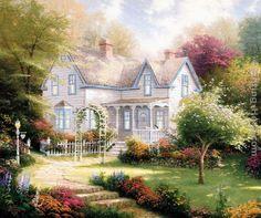 Home Is Where The Heart Is II by Thomas Kinkade