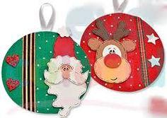 Enfeites de Natal feitos com feltro e CDs                                                                                                                                                      Mais