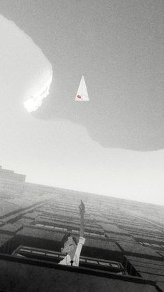 !!TAP AND GET THE FREE APP! Stylish Grey White Dream Romantic Paper Airplane Office HD iPhone 5 Wallpaper