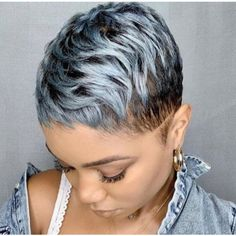 100+ Shaved Hairstyles For Black Women with Cool Designs Hairstyle Secrets Natural Hair Short Cuts, Tapered Natural Hair, Short Hair Cuts, Short Hair Styles, Bald Hairstyles For Women, Short Shaved Hairstyles, Black Girls Hairstyles, Super Short Pixie, Shaving Cut