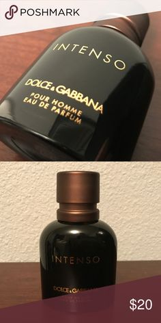 Dolce and Gabbana Intenso men's cologne 1.3oz Dolce and Gabbana Intenso opened but only sprayed once so like new. Dolce & Gabbana Other