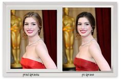 """Anne Hathaway """"made over"""" in colors better for her Winter type Deep Winter Colors, Skin Shades, Seasonal Color Analysis, Dress For Success, Season Colors, Color Theory, Fashion Colours, Fashion Beauty, Hair Beauty"""