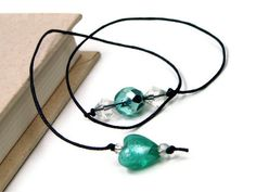 Book Thong Beaded Bookmark Book String Book Cord by TJBdesigns, $4.00