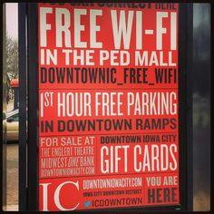 Downtown kiosks