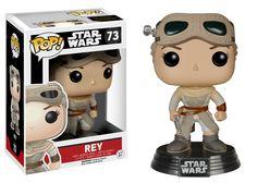 Star Wars Episode VII: The Force Awakens Rey with Helmet Pop! Vinyl Figure…