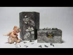 Decoración de objetos con aluminio. - YouTube