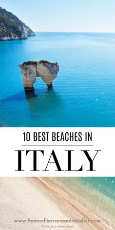 Italy is synonymous with beauty, and it's beaches are no exception. So here are 10 of the most beautiful beaches in Italy (if not some of the best beaches in Europe). There's something for everyone, from grand sculptural rocks of Lampedusa and Scala dei Turchi, to perfect sands of Cala Mariolu, and the picturesque settings of Polignano a Mare and San Fruttuoso. #italy #beaches #europe