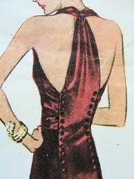 Holy crap, this is perfect.  Gotta make this dress.  It's a McCalls number 9919.  1930s or so.