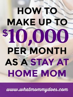 If you are looking for ways to make extra money monthly with a home business, you HAVE to read this! This post goes over many many ways to make $100, $500, $1,000 and even $10,000 extra per month for your family. Some of the ideas are so simple but brilliant! You'll really like this resource page. | earn extra money, money making ideas for moms, handmade items to sell, products you can sell, how to make a side income
