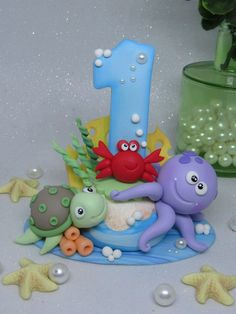 Cake Topper Tutorial, Fondant Tutorial, Adornos Halloween, Cake Toppings, Baby Shark, Baby Party, Pretty Cakes, Flower Crafts, Nursery Art