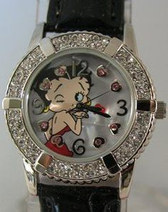 Betty Boop watch <=== I have abut 12 different BB watches - some with broken straps now or dead batteries but still keep for my collection