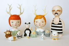 New work from sweet bestiary on #Etsy. I love this artist.