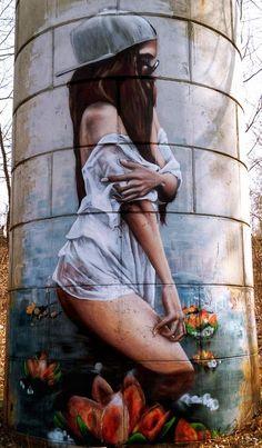 Street Art (Best of. Graffiti Photography, Paint Photography, Urban Street Art, Urban Art, Amazing Street Art, Amazing Art, Pavement Art, Banksy Art, Stencil Art