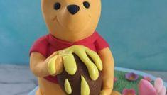 mermaid cake tutorial - robyn loves cake Peter Rabbit Figurines, Winnie The Pooh Figurines, Peter Rabbit Cake, Black Fondant, Petal Dust, Mermaid Cakes, Lollipop Sticks, Modeling Chocolate