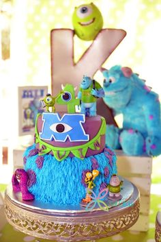 Kevin's 4th Birthday Monsters University Tour | CatchMyParty.com