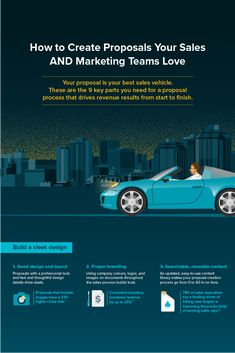 Our helpful infographic shows you the 9 key parts your sales team needs for a beautifully branded and back-end-bolstered business proposal that gets you… Startup Entrepreneur, Proposal Writing, Business Proposal, Time Saving, Competitor Analysis, Sales And Marketing, Writing Tips, Business Ideas, Competition