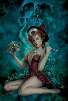 Halloween: Pin-ups