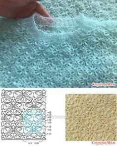 Turquoise Kid Mohair Sweater - handmade and . Turquoise Kid Mohair Sweater - Handmade and . Crochet Stitches Patterns, Knitting Stitches, Hand Knitting, Stitch Patterns, Knitting Patterns, Crochet Diagram, Crochet Chart, Crochet Motif, Pull Crochet