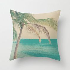 Pillow Cover Beach Pillow Turquoise Pillow Summer Pillow Vintage Pillow Summer Pillow Sea Pillow Decoration 16 x 16 or 18 from CarolineMint on Etsy. Seaside Decor, Beach House Decor, Beach Room, Beach Art, Lawn Furniture Cushions, Turquoise Pillows, Pillow Inspiration, Vintage Nursery, Nautical Nursery