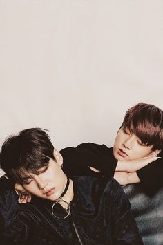 Suga Kookie || like hyung like dongsaeng...sleeping in pictures