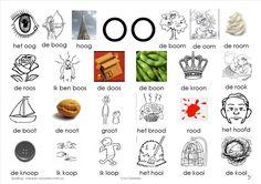 plaat oo Dutch Language, Phonics, Spelling, Preschool, Learning, Mini, School Stuff, Stage, Holland