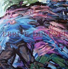 "Saatchi Online Artist Ebru E Duvenci; Painting, ""untitled, 2004, oil on canvas, 100x100cm"" #art"