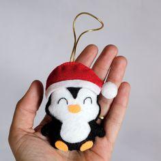 Enfeite para árvore de natal - Pinguim no Elo7 | Lis Crafts (A73DAA)