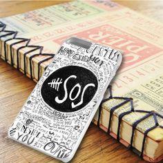 5 Seconds Of Summer Qoutes Art iPhone 6 Plus|iPhone 6S Plus Case