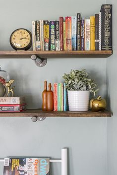 di: industrial built-in shelving (yes, please, @mrtodd13