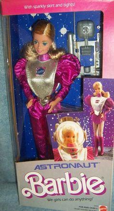 Astronaut Barbie. She was my favorite.
