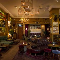 Bar Review - Mr Fogg's | The Gentlemans Journal | http://www.thegentlemansjournal.com/bar-review-mr-foggs/