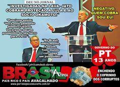 Alerta Total: Odebrecht cobra reciprocidade de Lula para não vazar pagamentos de comissões, viagens e favores
