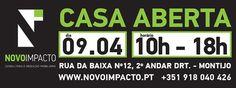 CASA ABERTA | Venha visitar a sua nova casa!  Para mais informações contacte-nos. http://www.novoimpacto.pt/imoveis/12815/