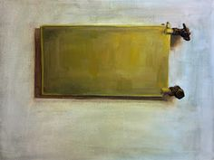 "Oilpainting ""Radiator"" 50 x 60 cm by Tapio Mömmö #radiator #oilpainting #art"
