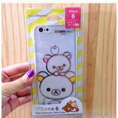 case rilakkuma for iphone6/6s เคสแขง เวาบน ลาง 790บาท ราคารวมสงลทบ  ---------------------------------------- shipping :: sun - fri cf no cc ขออนญาตใหคนท cf กอนนะคะ ตดตามสนคาพรอมสงไดท #shopforyouinstock ---------------------------------------- #ตามหา #อยากขาย #cute #disneythailand #sanriothailand #sanrio #disney #like4like #likeforlike #moomin #moominthailand #littlemy #littlemythailand #cuteshop #cutie #shopthai #likeforslike #thaishop #นารก #rilakkuma by shopforyou_u