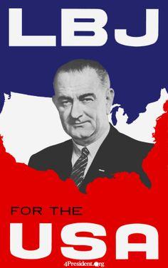 LBJ - Democrat 1964